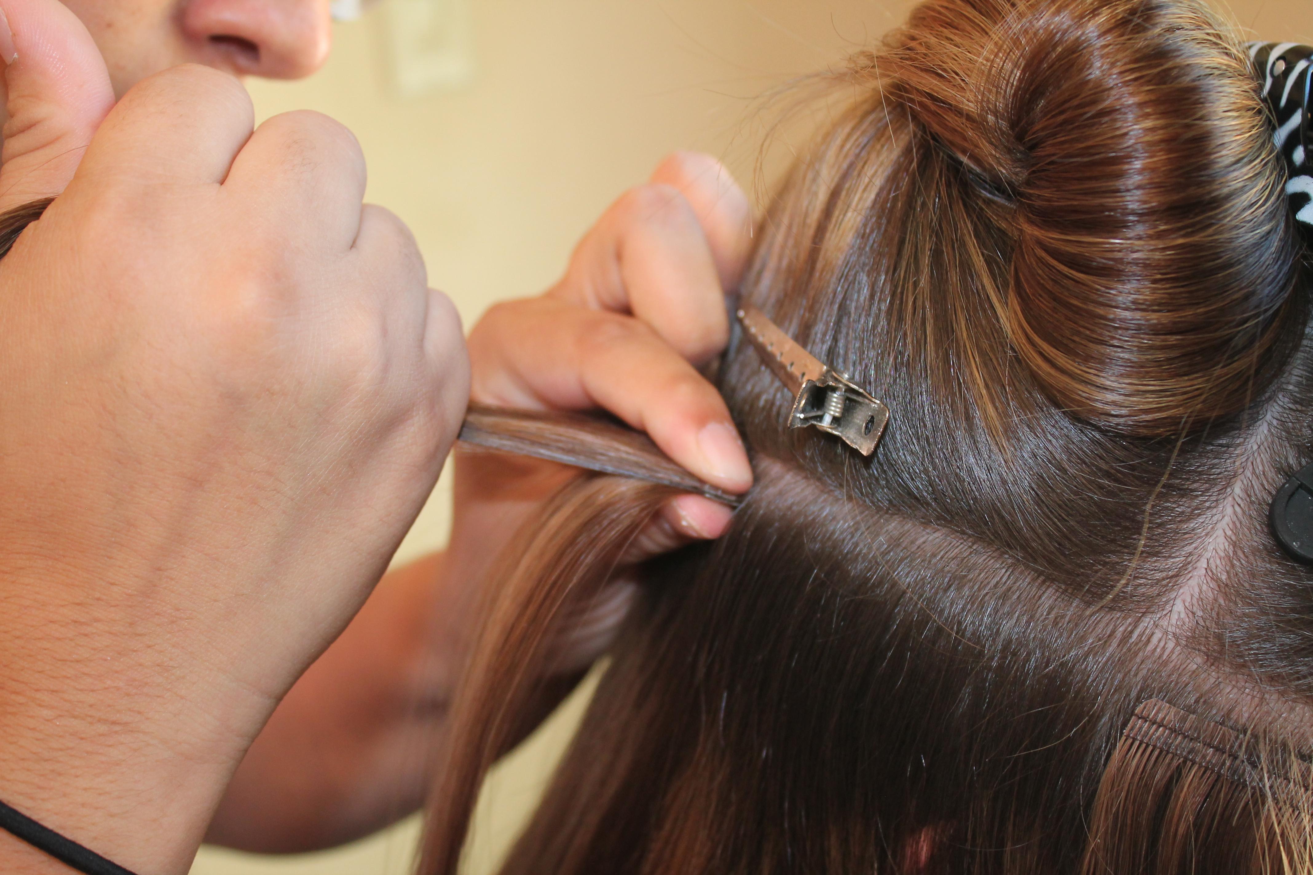Tape In Extensions Flagstaff Hair Salon Northern Arizona Glam